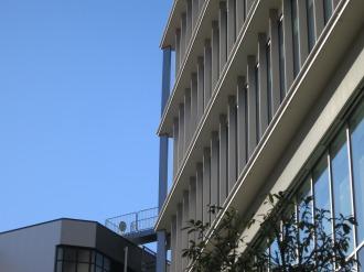 野村不動産武蔵小杉ビルS棟に残る柱