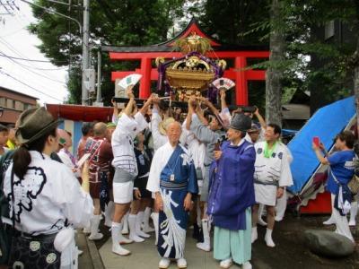 日枝神社のシンボル
