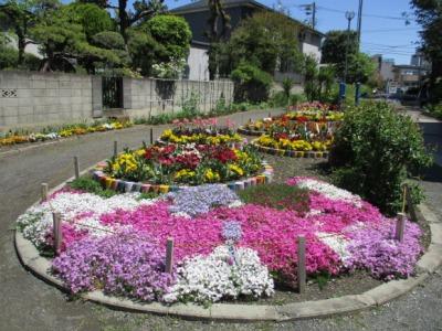 カラフル花壇