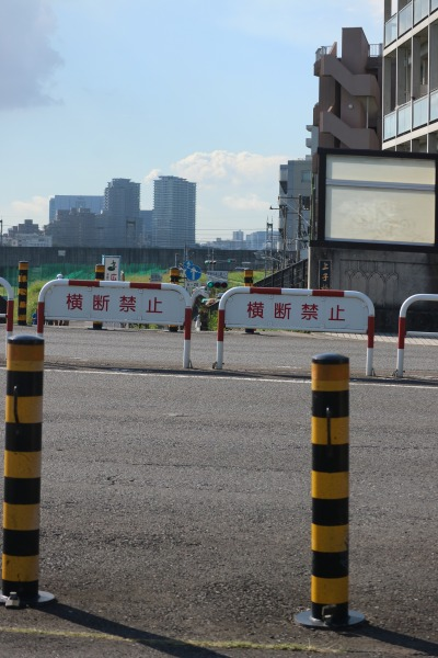 中原街道・丸子橋付近