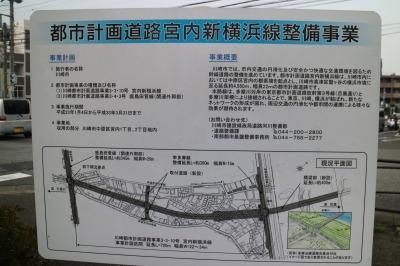 宮内新横浜線整備事業の掲示