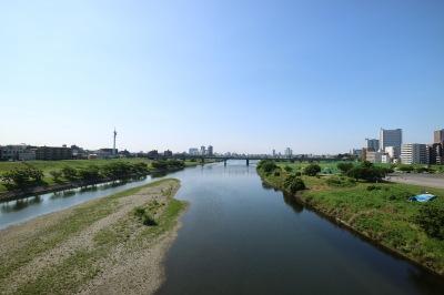 大田区側の「沼部」(左)と、川崎市側の「下沼部」