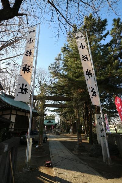 小杉神社の初詣