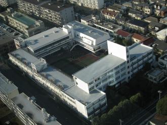 大西学園中学・高等学校の校舎
