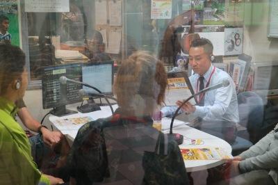 かわさきFM「コスギスイッチON!」でのイベント告知