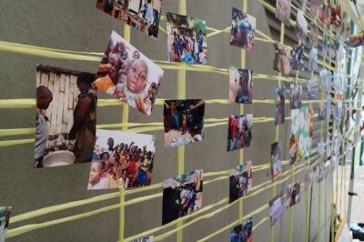 ガーナの子どもたちの写真