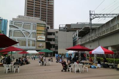 「コスギオープンカフェ」の会場
