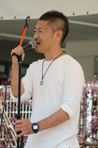 5月7日(土)の「In Unityコアパークライブ」より、「且優矢」