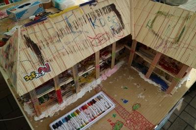 ガーナの小学校模型