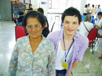 2010年タイボランティア活動の様子