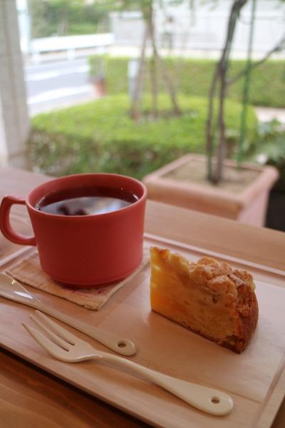 紅玉りんごのバターケーキ