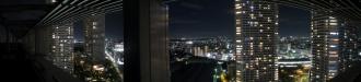 レジデンス・ザ・武蔵小杉からのパノラマ(夜景)