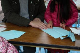 折り紙ヒコーキ講座