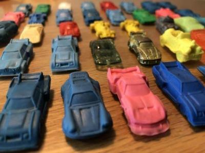 11月30日「なかはら子ども未来フェスタ」で出展「スーパーカー消しゴム」