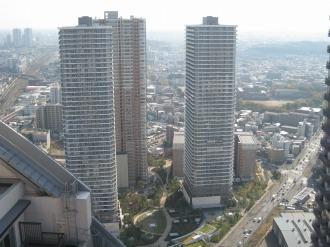 「コスギフェスタ2012」会場となる武蔵小杉再開発地区