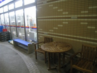 am/pm武蔵小杉駅前店の旧喫煙スペース