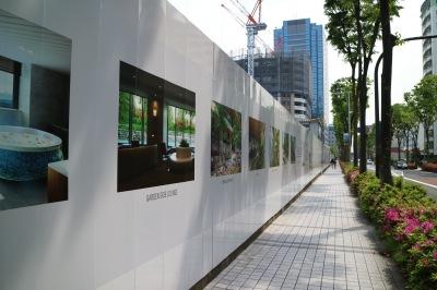 「パークシティ武蔵小杉ザ ガーデン タワーズウエスト」の建設地