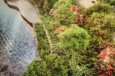 「タワーズウエスト」の屋上庭園