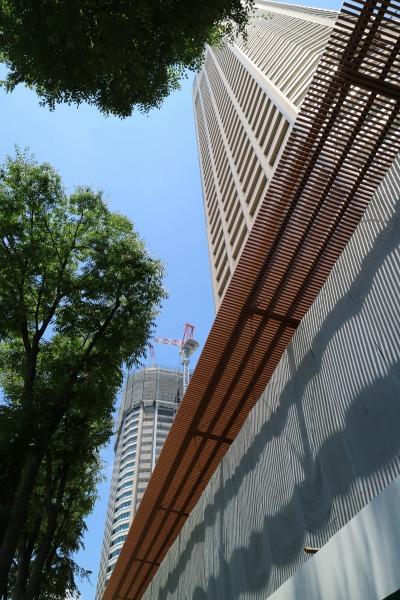 落下物防止の屋根