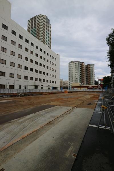ホテル・ザ・エルシィ跡地の工事着手