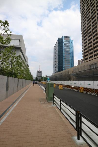 パークシティ武蔵小杉 ザ ガーデン北側の道路