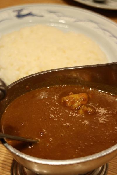 印度風チキンカレー