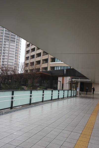 ホテル・ザ・エルシィ跡地へのデッキ
