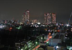「新しい街 小杉の夜景」 大口 文弘さん