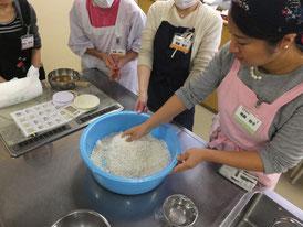 麹の塩切り