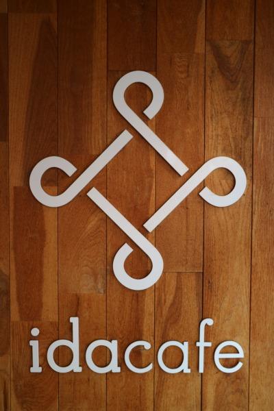 「idacafe」のロゴ