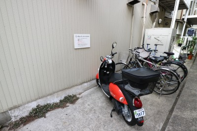 idacafeの駐輪場