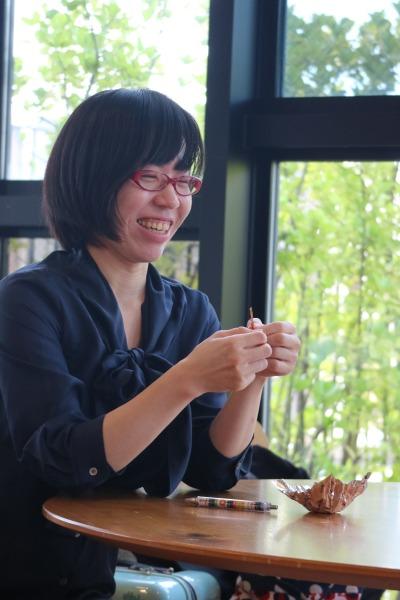 コミュニティナースの渡邊麗子さん