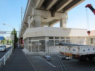 閉店後のポプラ今井上町店