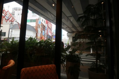 「Public House」から見える武蔵小杉方面