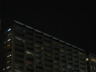ライトダウンしたレジデンス・ザ・武蔵小杉