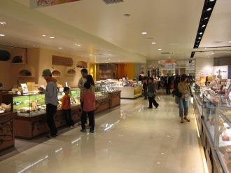 数々の和洋菓子店