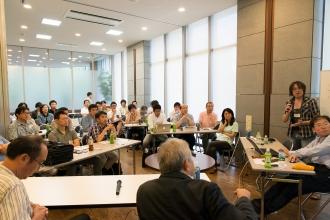 パークシティ武蔵小杉ミッドスカイタワーで行われた「RJC48」の防災勉強会