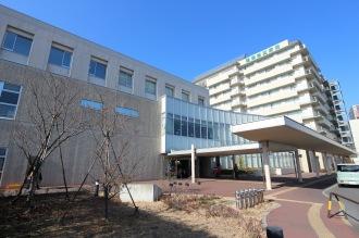 関東労災病院の新棟