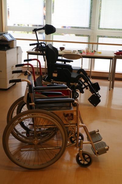 車いす・介護用品の体験