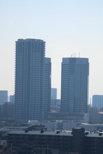 新川崎の高層ビル
