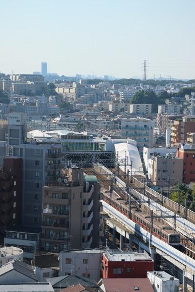 元住吉駅方面