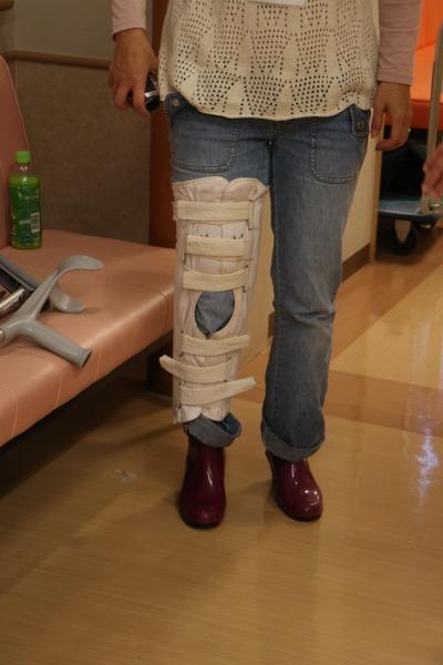 車椅子・松葉杖・ギプス体験