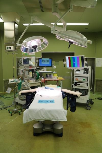 手術室の見学