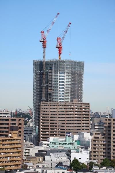 建設中のKosugi 3rd Avenue