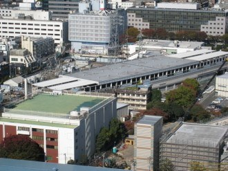 東急武蔵小杉駅ビル建設予定地(駅上部)