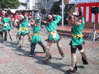 「かわさき舞祭」のダンスチーム