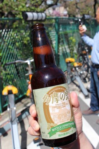 地ビール「多摩の恵」