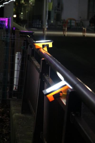ライトアップの照明