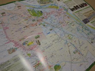 「なかはら歴史と緑の散策マップ」
