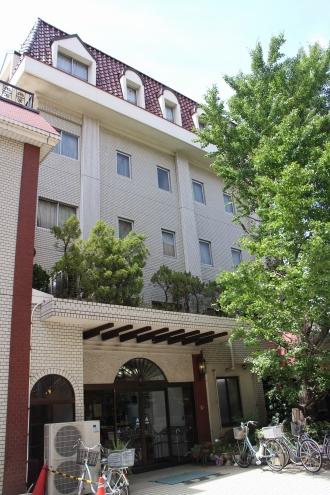 解体前のホテル精養軒